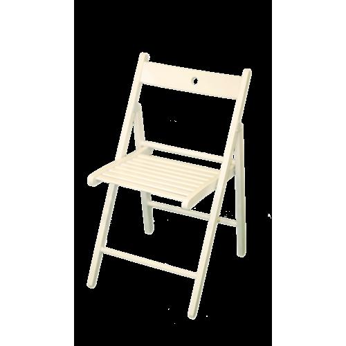 Mesas y sillas blancas dise os arquitect nicos for Silla madera blanca
