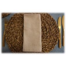 Servilleta marrón